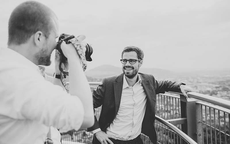Fionn Große mit Julien Bender von Jackson Hohlbaum fotografiert